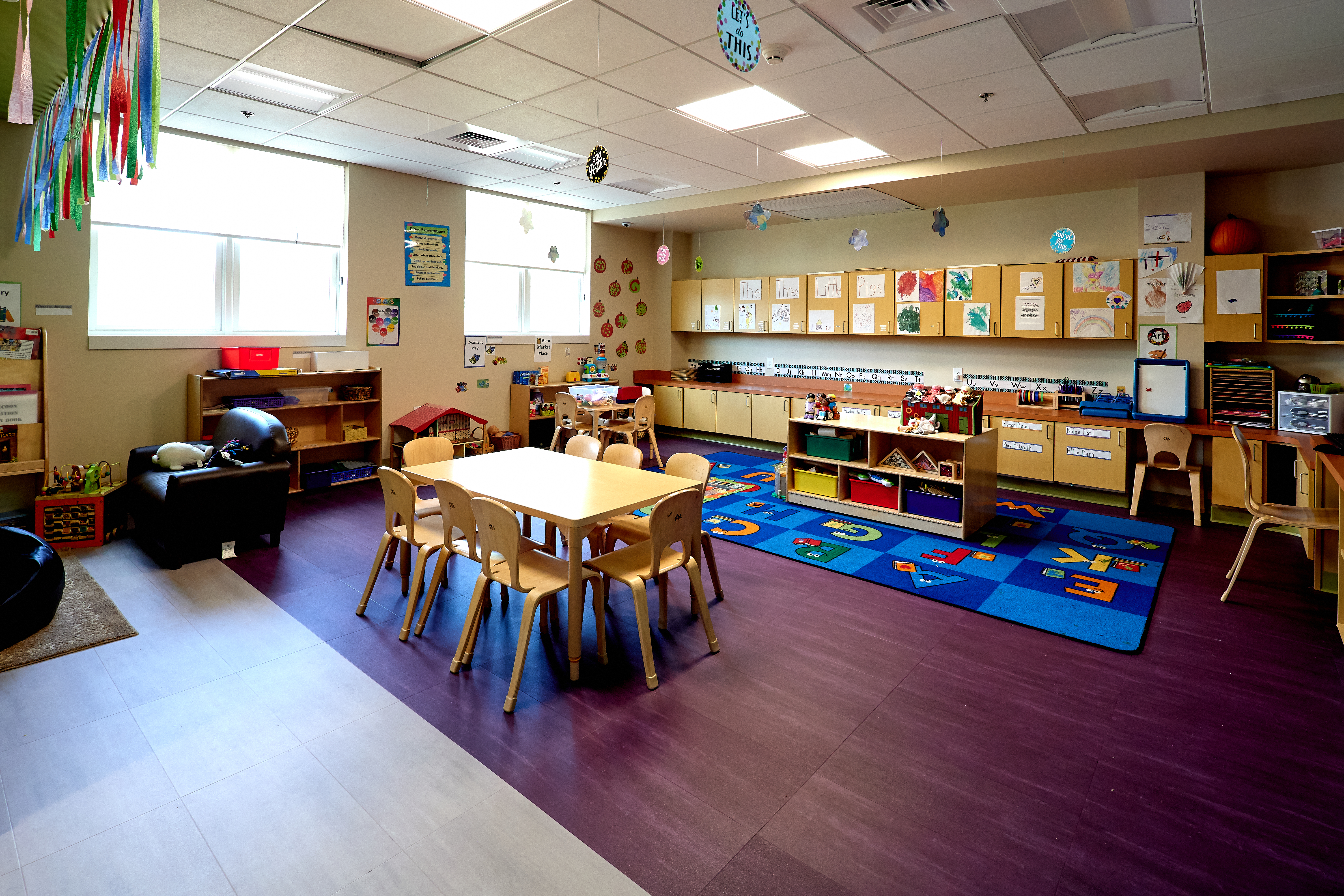 Sproutlings Day Care & Preschool Classroom